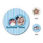 summer time - Playing Cards (Round)