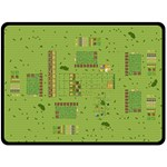 MantaAgricolaGrande_Avanzado - Fleece Blanket (Large)