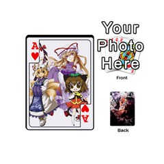 Ace Touhou Mini Pcg By K Kaze   Playing Cards 54 (mini)   7cm27alfbw2a   Www Artscow Com Front - HeartA