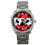 Austria Sport Metal Watch