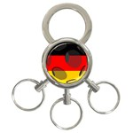 Germany 3-Ring Key Chain