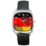 Germany Square Metal Watch