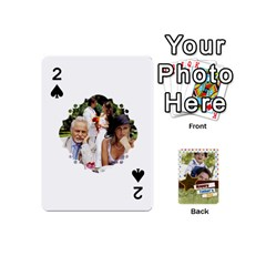Happy Fathers Day By Joely   Playing Cards 54 (mini)   N6aaw56exh0x   Www Artscow Com Front - Spade2
