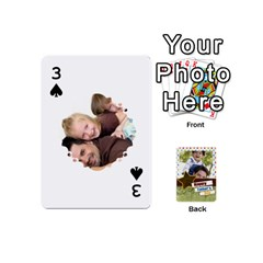 Happy Fathers Day By Joely   Playing Cards 54 (mini)   N6aaw56exh0x   Www Artscow Com Front - Spade3