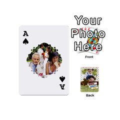 Ace Happy Fathers Day By Joely   Playing Cards 54 (mini)   N6aaw56exh0x   Www Artscow Com Front - SpadeA