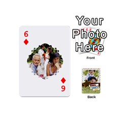 Happy Fathers Day By Joely   Playing Cards 54 (mini)   N6aaw56exh0x   Www Artscow Com Front - Diamond6