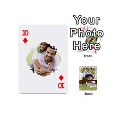 Happy Fathers Day By Joely   Playing Cards 54 (mini)   N6aaw56exh0x   Www Artscow Com Front - Diamond10