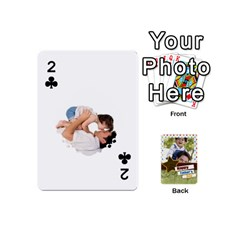Happy Fathers Day By Joely   Playing Cards 54 (mini)   N6aaw56exh0x   Www Artscow Com Front - Club2