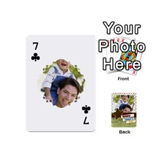 Happy Fathers Day By Joely   Playing Cards 54 (mini)   N6aaw56exh0x   Www Artscow Com Front - Club7