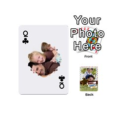 Queen Happy Fathers Day By Joely   Playing Cards 54 (mini)   N6aaw56exh0x   Www Artscow Com Front - ClubQ