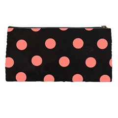 Pencil Case  Monogram Bows & Polka Dot By Lmrt   Pencil Case   Xe6m4mhrlhxl   Www Artscow Com Back