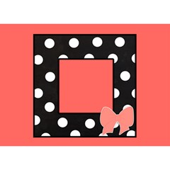 Thank You 3d Card   Pink & Black By Lmrt   Thank You 3d Greeting Card (7x5)   3ga1srzzj82u   Www Artscow Com Front