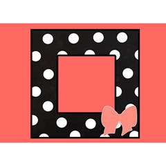 Baby Girl   3d Card   Pink Polka Dot By Lmrt   Girl 3d Greeting Card (7x5)   Cjwac8bpds5m   Www Artscow Com Front