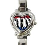 Netherlands Heart Italian Charm Watch