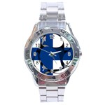 Finland Stainless Steel Analogue Men's Watch