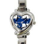 Finland Heart Italian Charm Watch