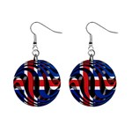 Iceland 1  Button Earrings