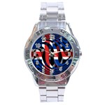 Iceland Stainless Steel Analogue Men's Watch