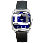Greece Square Metal Watch