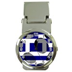 Greece Money Clip Watch