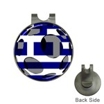 Greece Golf Ball Marker Hat Clip