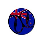 New Zealand Rubber Round Coaster (4 pack)
