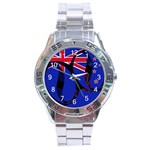New Zealand Stainless Steel Analogue Men's Watch
