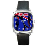 New Zealand Square Metal Watch