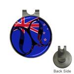 New Zealand Golf Ball Marker Hat Clip