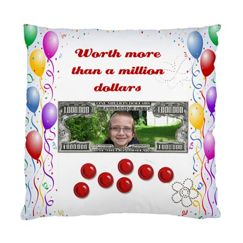 Grandkid Cushion By Malky   Standard Cushion Case (one Side)   Pxoridkrvggc   Www Artscow Com Front