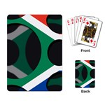 South Africa Playing Cards Single Design