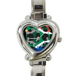 South Africa Heart Italian Charm Watch