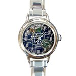 Earth Round Italian Charm Watch
