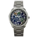 Earth Sport Metal Watch