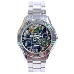 Earth Stainless Steel Analogue Men's Watch