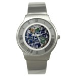 Earth Stainless Steel Watch