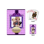 memory - Playing Cards (Mini)