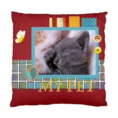 My Pet By Joely   Standard Cushion Case (two Sides)   Rv9qoyvi0wyu   Www Artscow Com Front