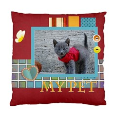 My Pet By Joely   Standard Cushion Case (two Sides)   Rv9qoyvi0wyu   Www Artscow Com Back