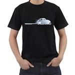 Classic VW BuGs Men s T-Shirt (Black) (Two Sided)