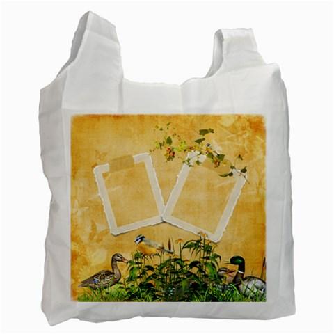 June Recycle Bag 2 By Snackpackgu   Recycle Bag (one Side)   Eavz9nzn0d56   Www Artscow Com Front