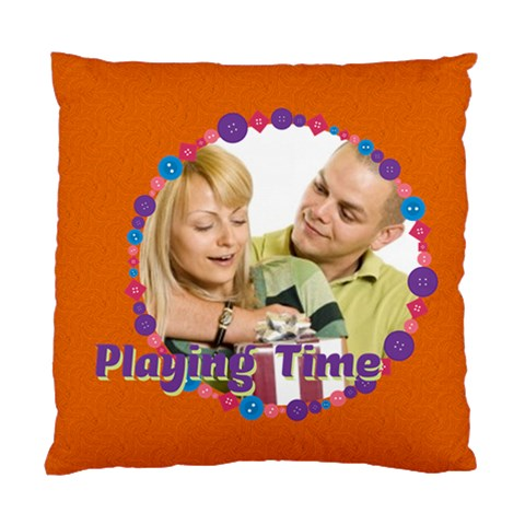 Play Time By May   Standard Cushion Case (one Side)   Sat3jh2tryl1   Www Artscow Com Front