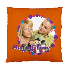 Playing Time By May   Standard Cushion Case (two Sides)   W1kefqrzocmo   Www Artscow Com Back