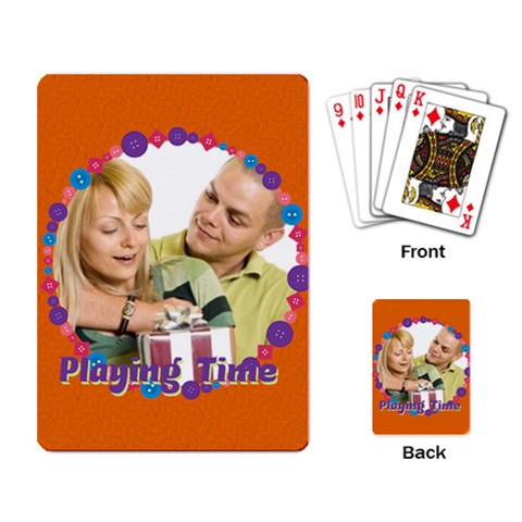 Playing Time By May   Playing Cards Single Design   2n33d4ve221n   Www Artscow Com Back