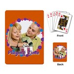 playing time - Playing Cards Single Design