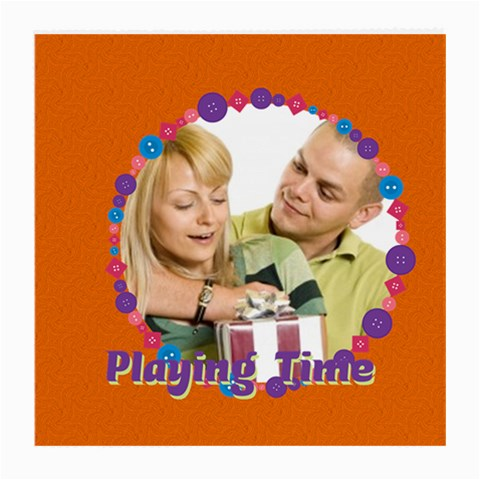Playing Time By May   Medium Glasses Cloth   Alzic9dn43x1   Www Artscow Com Front