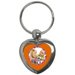 playing time - Key Chain (Heart)
