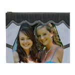 Black/White XL Cosmetic Bag - Cosmetic Bag (XL)