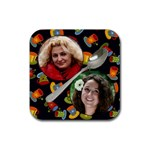Coffee Friends Coaster - Rubber Coaster (Square)