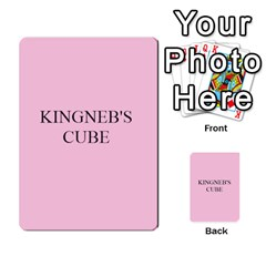 Cube Card Backs By Ben Hout   Multi Purpose Cards (rectangle)   Xxdgglj9fk1r   Www Artscow Com Back 27